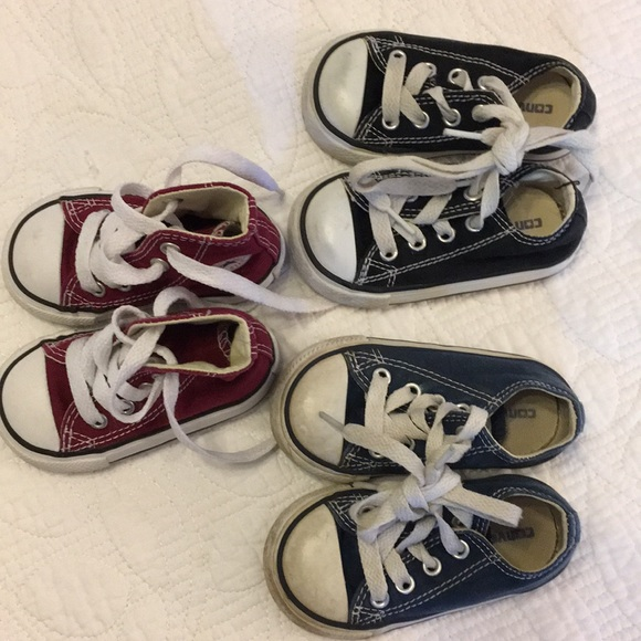 6d6f974f4021 Converse Other - Set of 3 baby converse sneakers